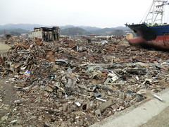 [Free Image] Society/Environment, Disaster, 2011 Sendai Earthquake and Tsunami, Earthquake, Tsunami, Japan, 201104142300