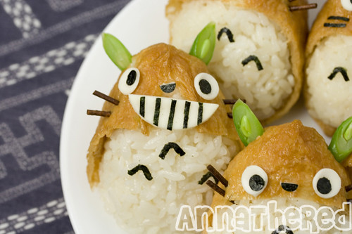 How to make Totoro inari-zushi