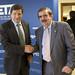 El candidato socialista destaca el papel esencial de la industria metal-mecánica en la economía asturiana