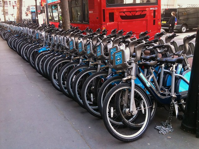 Cycle Hire Bikes to Infinity