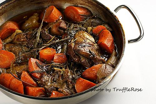 義大利葡萄醋燜烤羊煎肉-110414