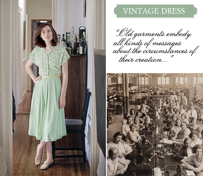 Classic Series on Jenna Sauers of Jezebel and her Vintage Dress Style inspiration from the 1940s