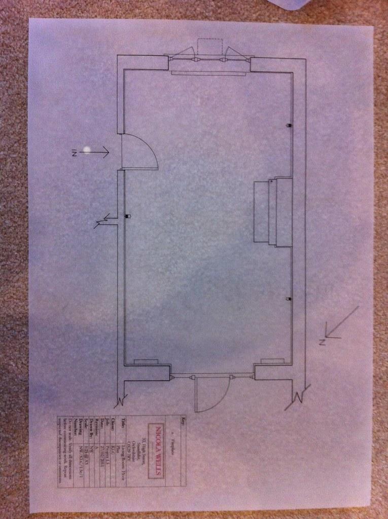 Project 1.5 Living Room- Floor Plan
