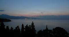 Sunrise from balcony (skihippy74) Tags: sea sunrise corinth greece fieldtrip loutraki kalamaki korinth