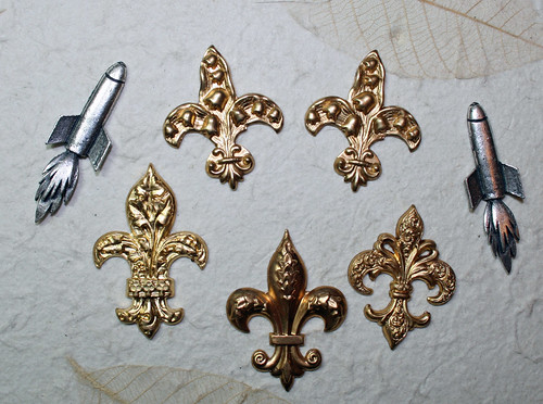 stampings and charms
