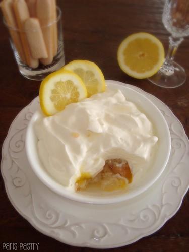 柠檬松糕杯