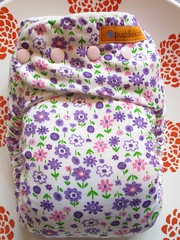 little gumnut  Knit Print Silent Nights - One size in Lavender (littlegumnut) Tags: night pretty day little nappy bamboo diaper fleece booster dyed velour gumnut customised couche procion lwi minkee fittednappy customnappy