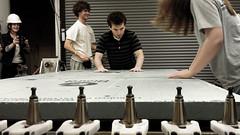 Andrew Viny 3 (madeline.gannon) Tags: architecture cmu cam workshop processing cad carnegiemellonuniversity cncrouter digitalfabrication fabricationworkshop
