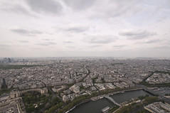 Eiffel Tower from the Top 03