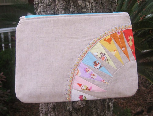 Pretty {little} Pouch complete!