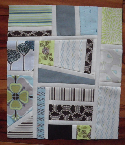 Twelve Month Quilting Bee - Melissa's Block
