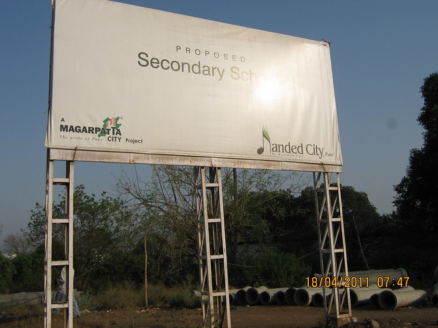 Proposed Secondary School - - Visit to Nanded City Pune on Sinhagad Road