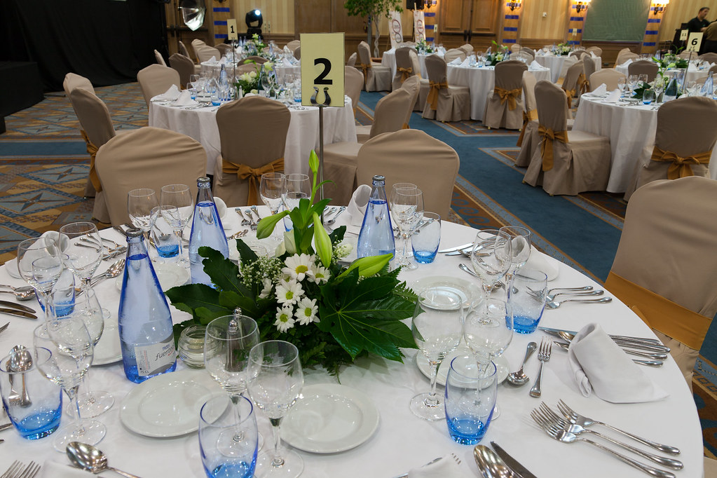 Evento/Event, table set up, dinner, decoration, meeting room, Sheraton La Caleta