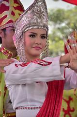 Malaysian Traditional Dancer