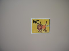 WC Sign at Salzburg Zoo