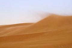 Blowing sand (TARIQ-M) Tags: texture landscape sand waves desert dunes riyadh saudiarabia  canonefs1855 blowingsand     canonef70200mmf4lusm   canon400d