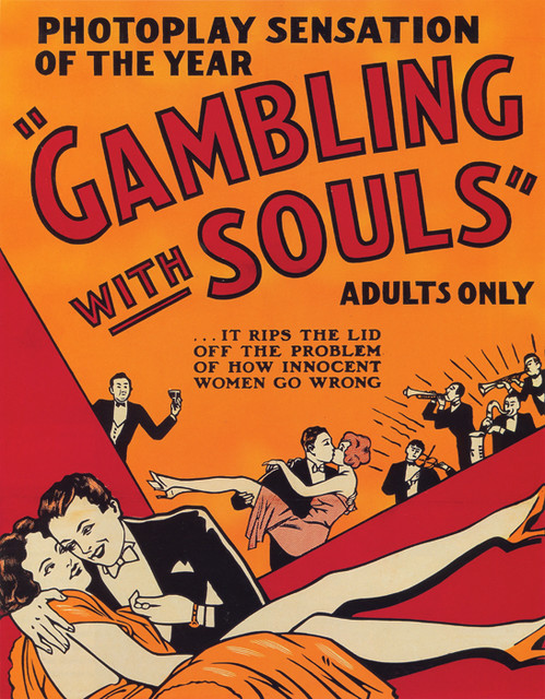 108-Gambling-With-Souls-B by Mofo Posters