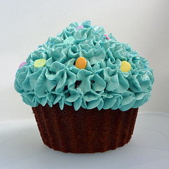lovely big cupcake