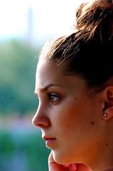 (perescancio) Tags: barcelona portrait girl beauty face dance retrato danza visage dansa perescancio