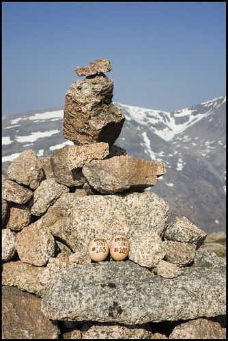 Carn a' Mhaim Summit Cairn