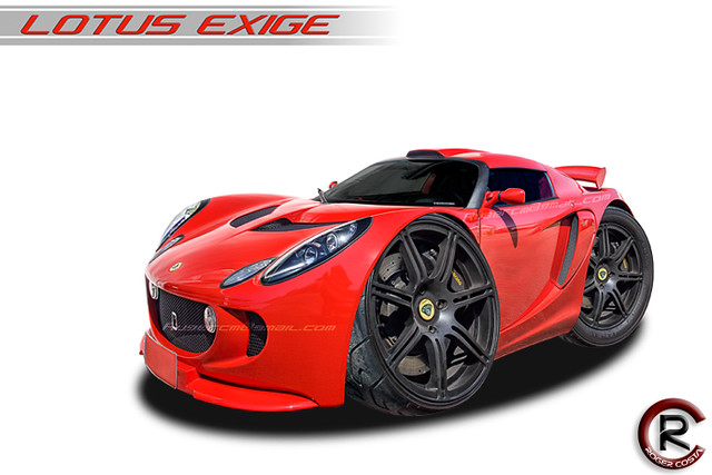 "Lotus exige ""cartoon car"" (#explore)"