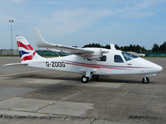 G-ZOOG Tecnam P.2006T (Jersey Airport Photography) Tags: airport aviation jer planes jersey tecnam egjj p2006t gzoog