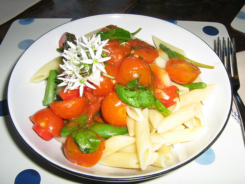 Tasty pasta cooked by Mr S