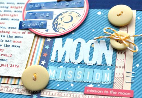 Moon, Moon, Moon . . . {Detail}