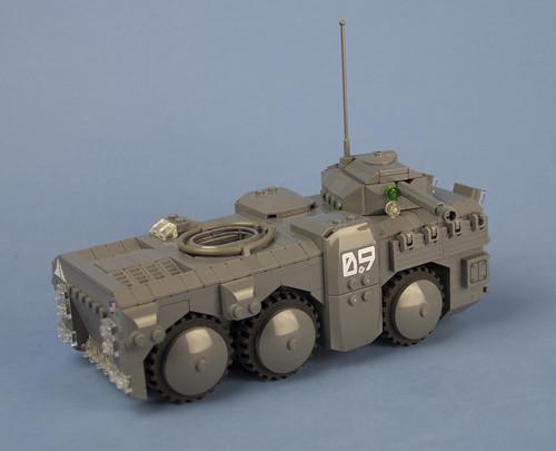 Custom minifig Iron Mountain Legion Prolwer-A APC (Anti Armor Version) 04