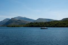 Lake Padarn & Snowdon (dlsmith) Tags: lake wales sony sigma railway snowdon slate alpha llanberis snowdonia 700 padarn 2870 dlsmith