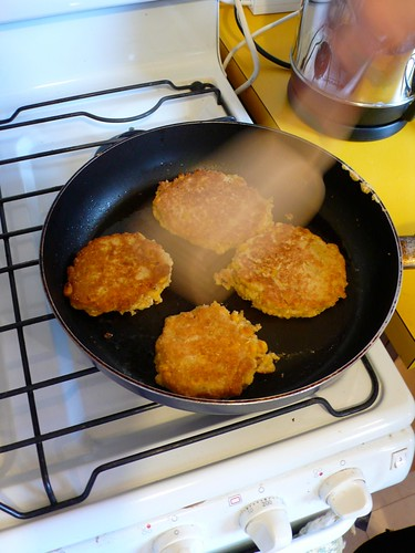 Corn and Oat Patties