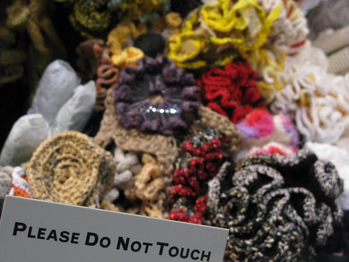 crochet reef - do not touch