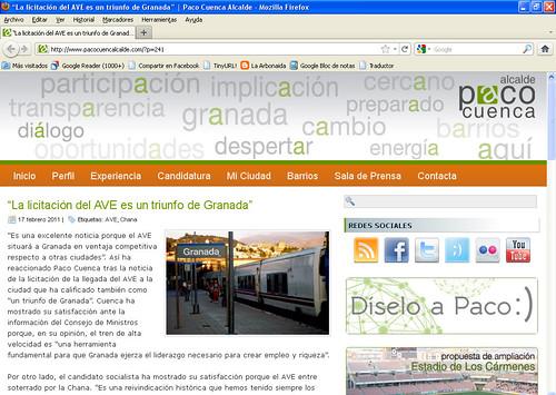 Paco Cuenca Blog