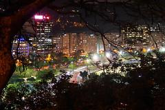 (Leonardo Martins) Tags: light brazil luz rio brasil riodejaneiro night wonderful lumix long bresil gib brasilien panasonic tropical noite g2 belvedere through mirante brésil ggb mirantedopasmado pasmado gettyimagesbrazil