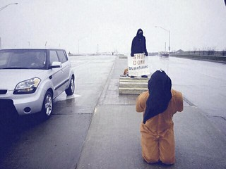 Anti-Torture Vigil - Week 45: A Passing Driver