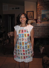 My grandma only compliments my looks when I wear an apron