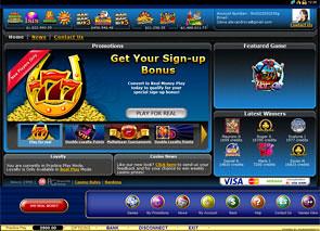 Lucky Nugget Casino Lobby