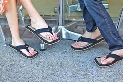 IMG_5454 (chipkos) Tags: sunset west rain forest sandals flip hollywood friendly flops eco blvd environmentally chipkos