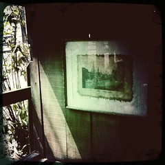 Old Photo Frame On The Wall