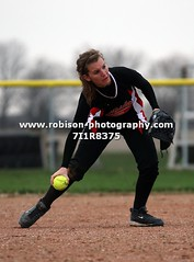 7I1R8375 (warren.robison) Tags: girls sports girl sport ball out photography action central first indiana christian highschool varsity softball bethesda pitcher triton basemen filder fairland ihsaa
