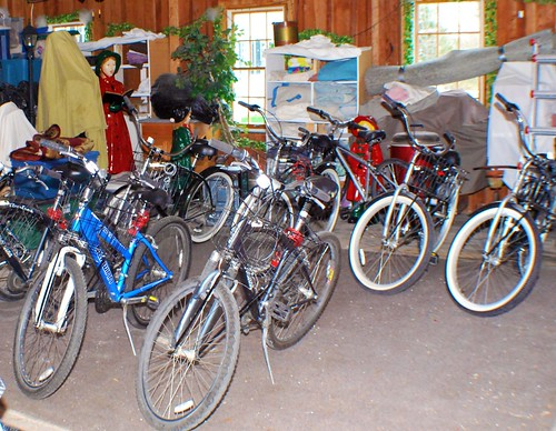 Bikes in the Carriage House