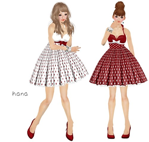 VA Creations - Polka Dress