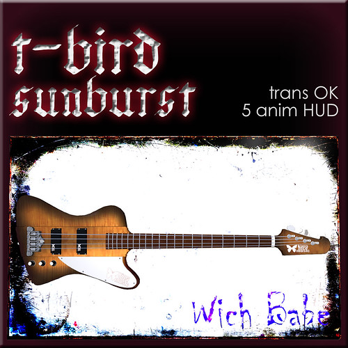 t-bird-sunburst by kimykitty