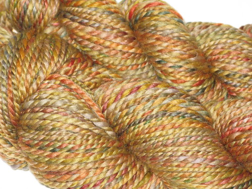Creatively Dyed Yarn Fiber Spun
