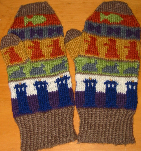 mittens by Paula knits