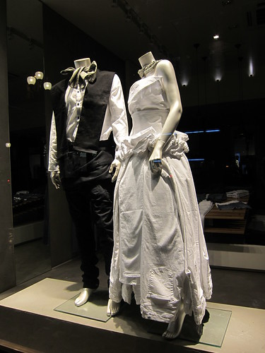 A Wedding Dress Made from Jeans