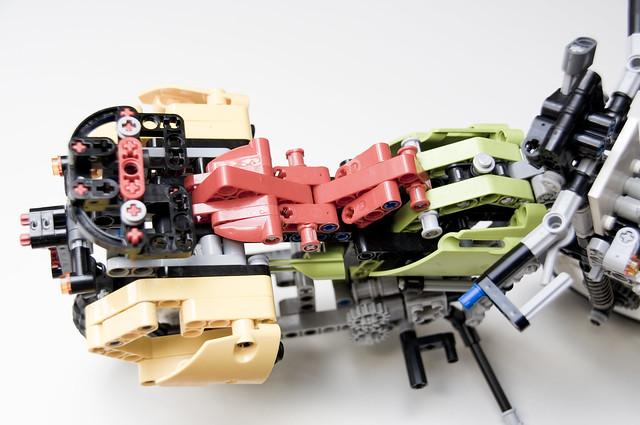 TT1000G (Lego): asiento de gel personalizado