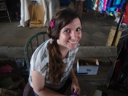 Danielle Hillman, Texas Ave Maker's Fair, Spring 2011 by trudeau