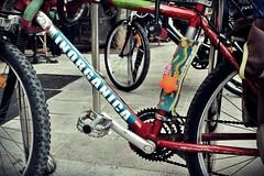 Bici creativa en el Passeig del Born