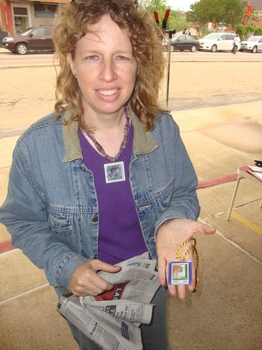 Susan Fortenberry, Texas Ave Maker's Fair, Spring 2011 by trudeau